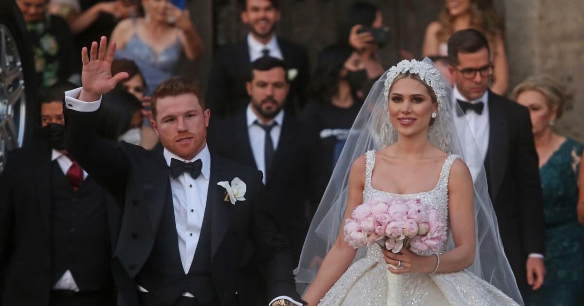 Details of the religious wedding of Canelo Álvarez and Fernanda Gómez