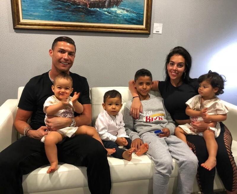 Hijos de Cristiano Ronaldo