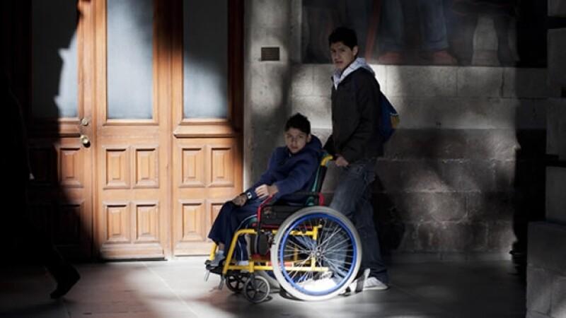 Menor discapacitado