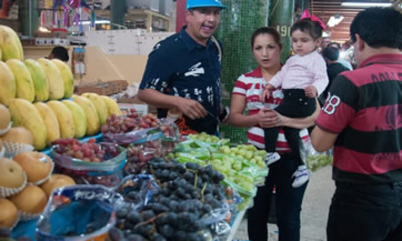 Los consumidores también tuvieron que gastar más para comer nopales, chayotes y otros productos agrícolas. (Foto: Cuartoscuro )