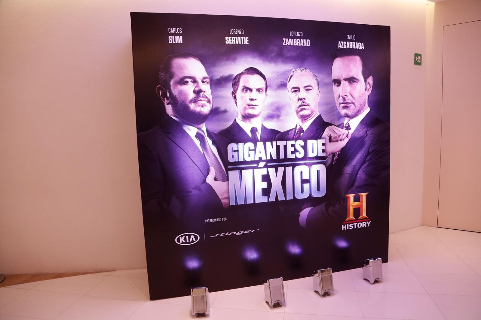 """PRESENTACIÓN """"GIGANTES DE MÉXICO""""RICARDO BERNAL"""