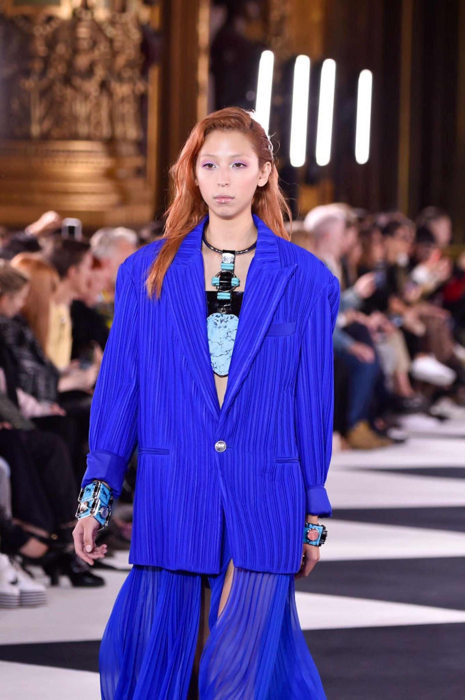 Balmain : Runway - Paris Fashion Week - Womenswear Spring Summer 2020