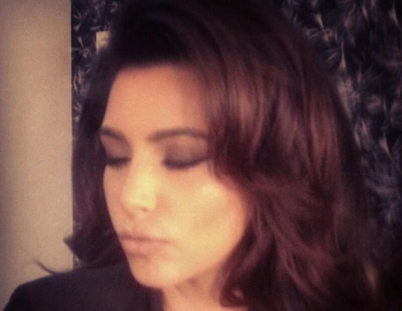 Kardashian emuló a Sophia Loren.