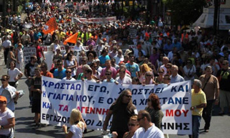 Los sindicatos han convocado una huelga general de 24 horas el 26 de septiembre. (Foto: AP)