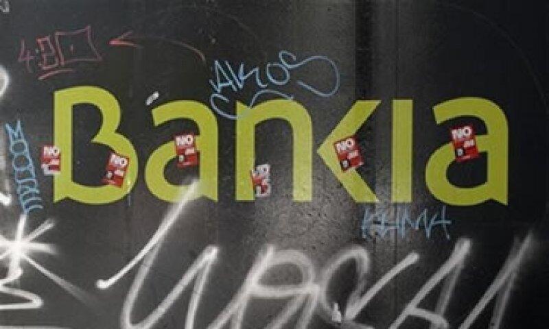 Bankia cerró los primeros seis meses del año con una tasa de morosidad de 11%.  (Foto: Reuters)