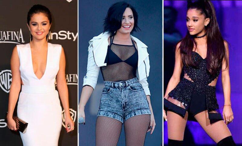Twitter fue el lugar en donde este trío de guapas y talentosas cantantes intercambiaron mensajes de felicitación y admiración, pues las tres están estrenando material musical.