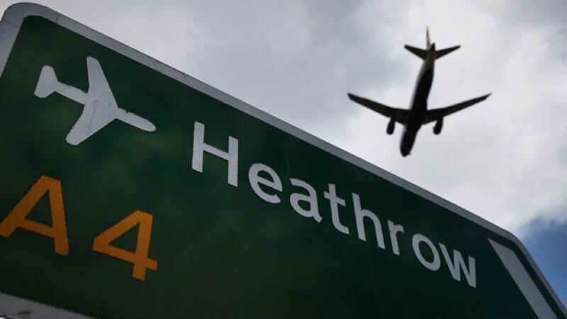 Londres aeropuerto vuelos Heathrow