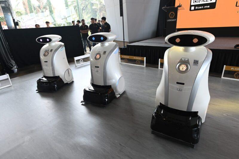 Robots limpieza Singapur