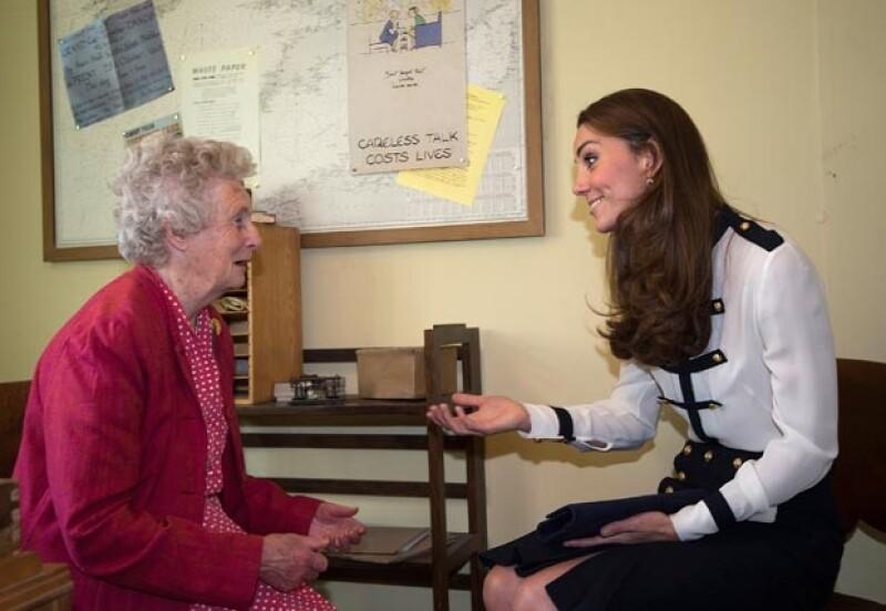 Kate convivió con una mujer que trabajó con su abuela.
