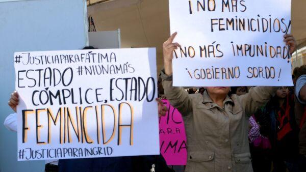 Vecinos se manifiestaron para exigir justicia por el feminicidio de Fátima, en el arco de Tulyehualco