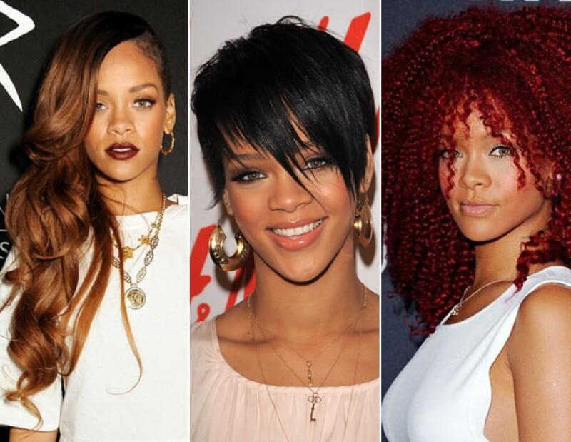 Rihanna es tan multifacética como sus cambios de look.