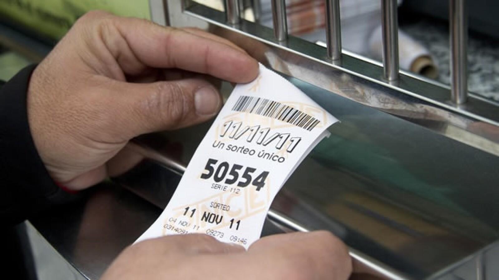 España boletos loteria 11.11.11