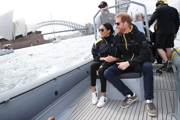 Prince Harry and Meghan Duchess of Sussex tour of Australia - 21 Oct 2018