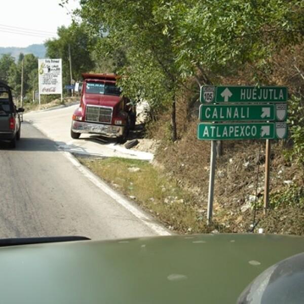 El municipio de Huejutla es uno de las principales vías de comunicación entre los estados de Veracruz y Tamaulipas, por lo que se refuerza l