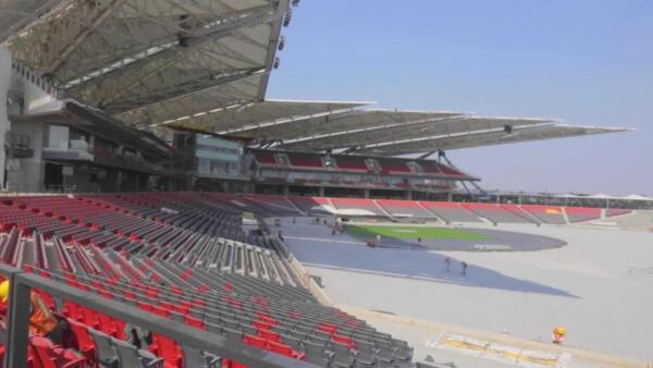 Así se construyó y así se ve el nuevo estadio de los Diablos Rojos