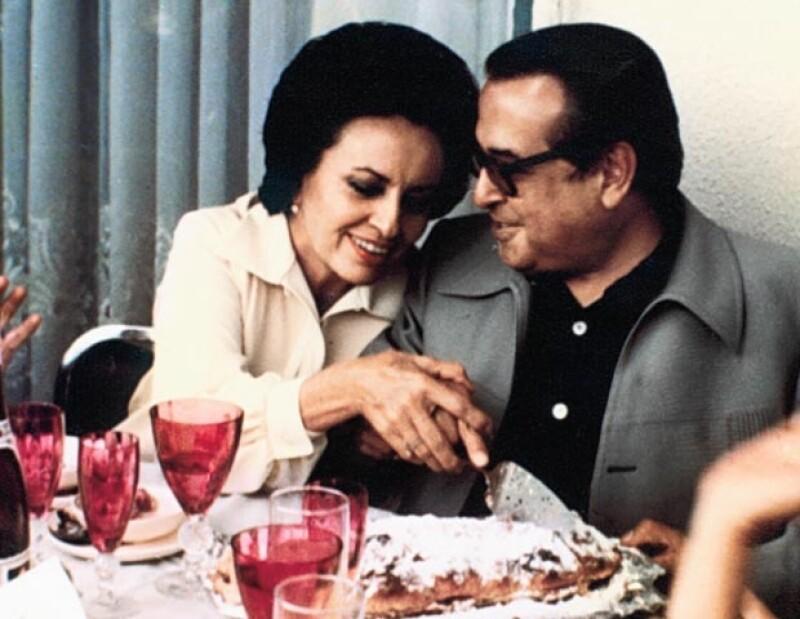 Con su esposa Olga Campuzano (q.e.p.d) compartió 53 años de matrimonio.