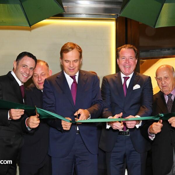 Sergio Berger,Ari Berger,Jean Frédéric Dufour,Benoit Falleti y Maurice Berger
