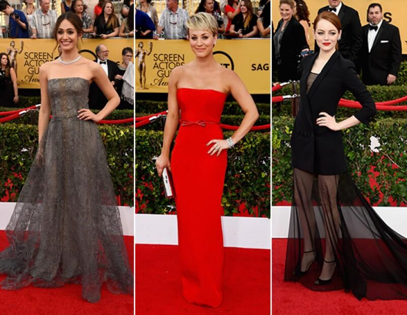 Sin duda, una de nuestras favoritas fue el look de Emma Stone. Pero por cada acierto, alguna A-lister siempre termina desilusionándonos.