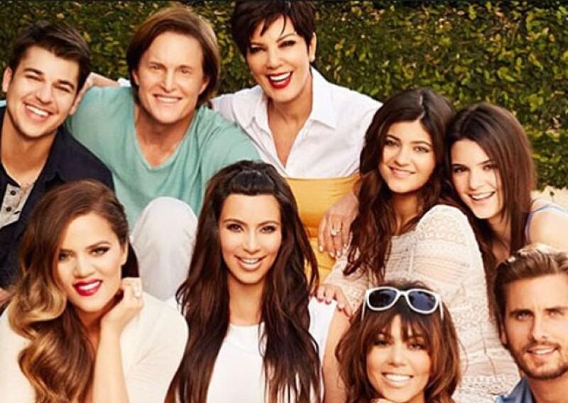 Kris Jenner da gracias día con día por tener a esta numerosa familia.