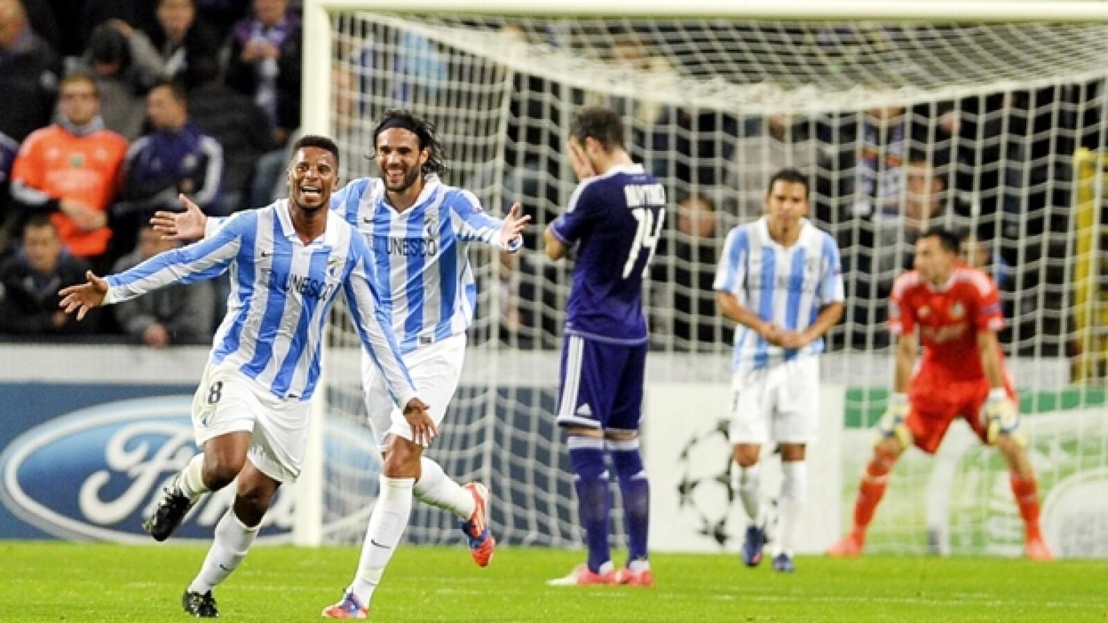 Málaga vs Anderlecht