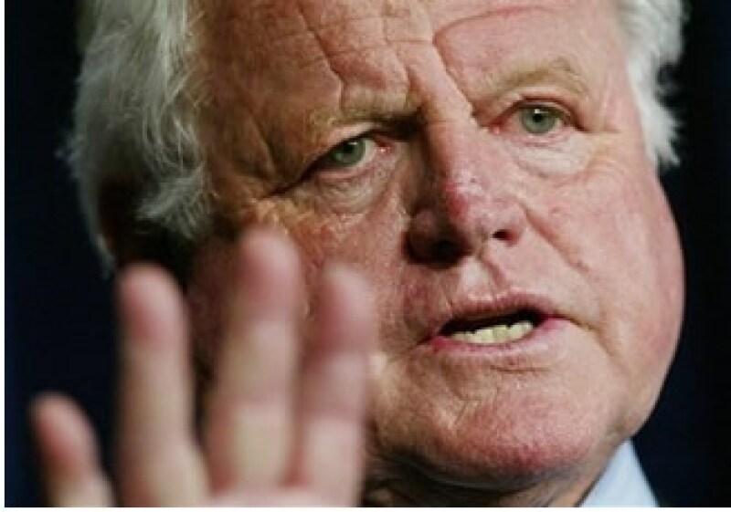 El senador Edward Kennedy fue una figura central del Partido Demócrata.  (Foto: AP)