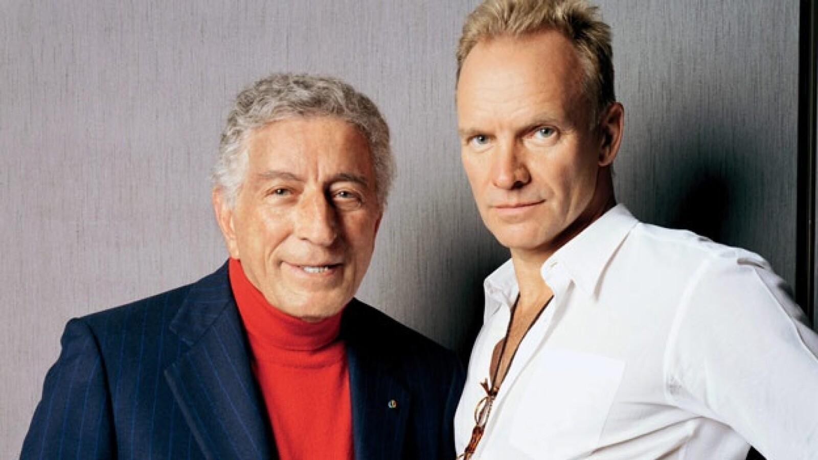 Tony Bennett y Sting