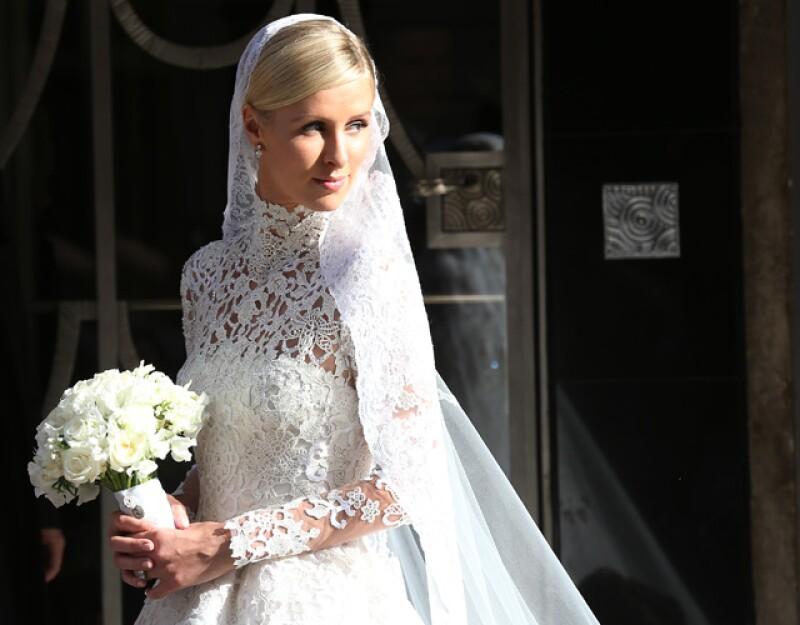 Nicky y Kate usaron vestidos similares el día de sus bodas.