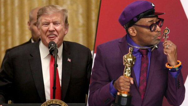 Donald Trump y Spike Lee