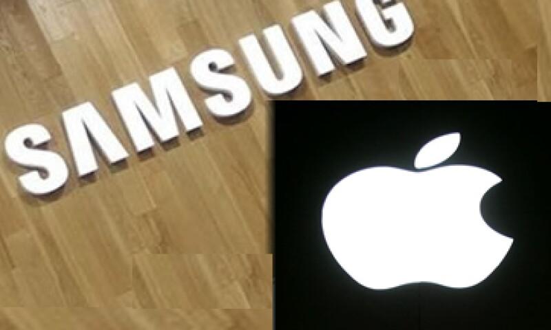 Samsung y Apple compiten por el primer puesto en el mercado mundial de teléfonos avanzados. (Foto: Especial)
