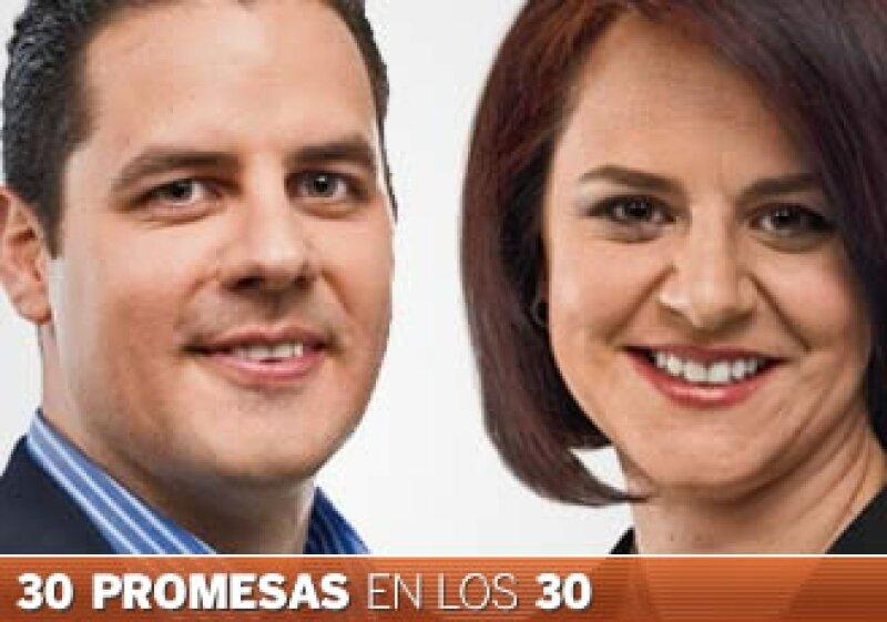 Carlos Mena Labarthe ocupa un puesto directivo en la Cofeco, mientras que Monique Clua es directora de Especialidades en Novartis. (Foto: Especial)
