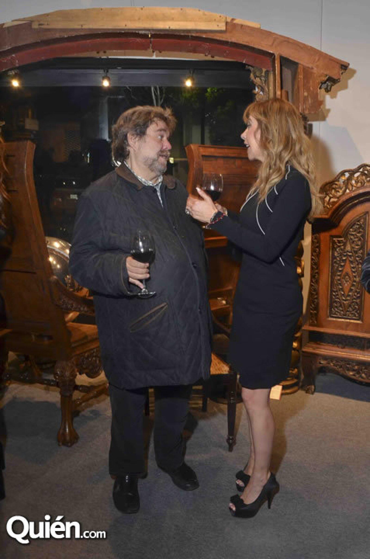 Gerardo Traeger y Edna Ampudia