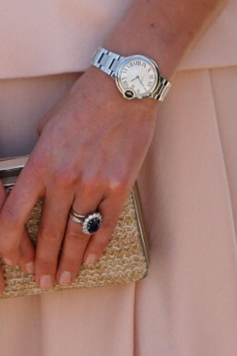 El reloj Cartier era propiedad de la princesa Diana.