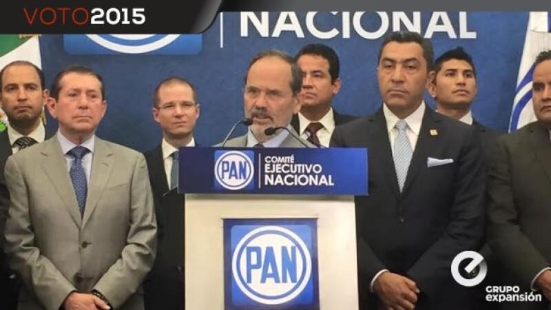 zeferino torreblanca es presentando por gustavo madero como candidato del pan a acapulco