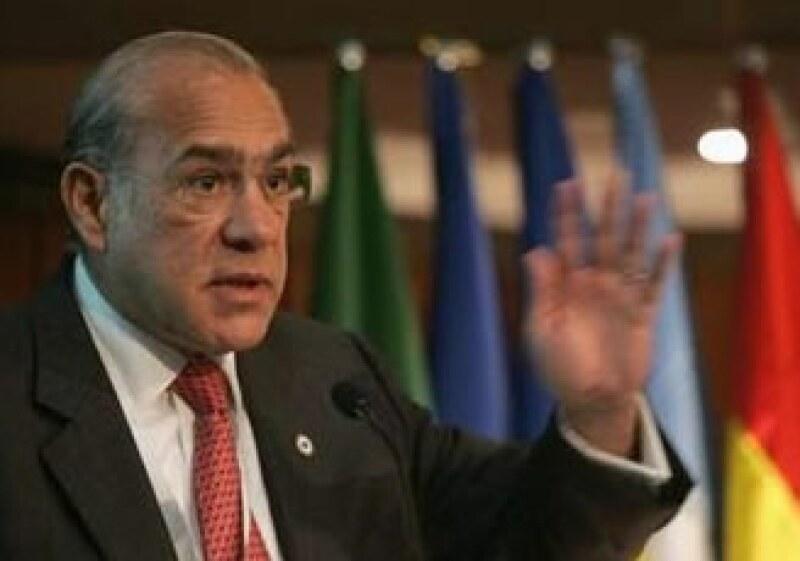 El anuncio lo hizo el titular de la OCDE, José Ángel Gurría.  (Foto: Reuters)