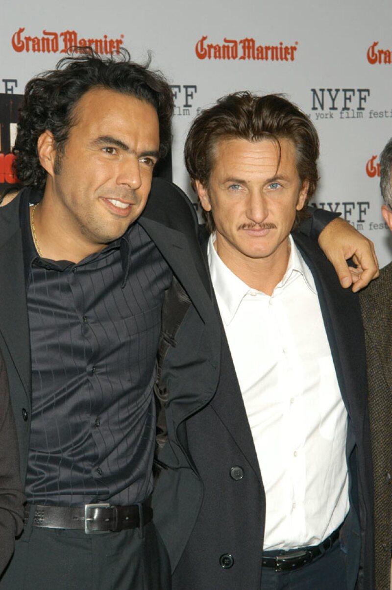 """Ambas personalidades entablaron una gran amistad en el rodaje de """"21 Gramos"""", que se estrenó en el 2003, por lo que tienen más de una década de ser amigos."""