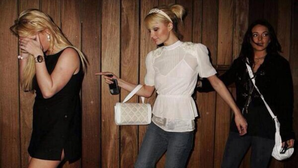 Britney Spears, Paris Hilton y Lindsay Lohan