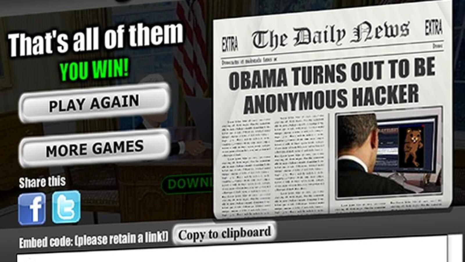 assange wikileaks videogame