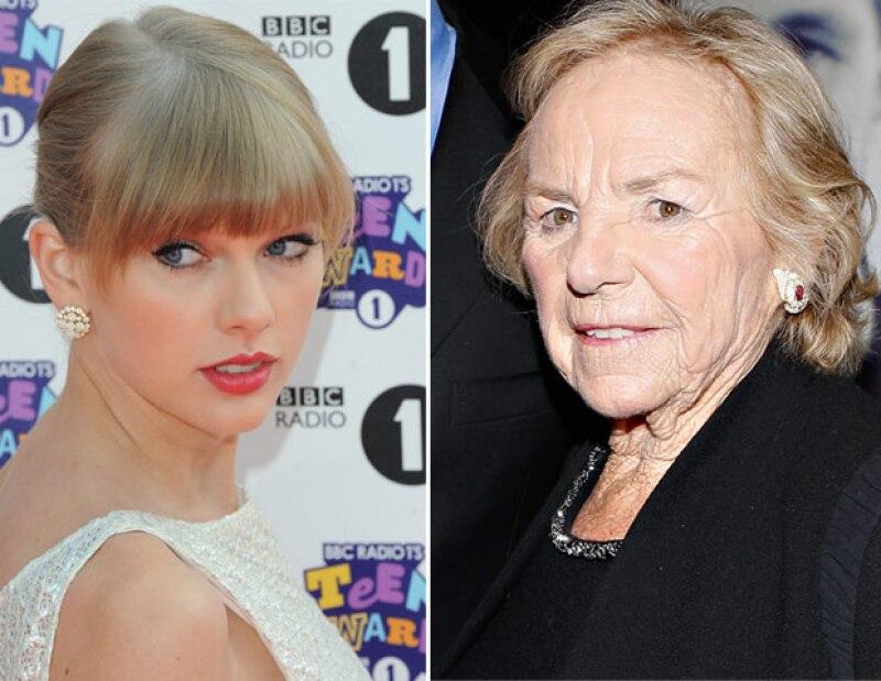 Ethel, la matriarca de dicha familia, está encantada con la relación que mantiene su nieto Conor con la cantante pop, tanto, que ambas disfrutan de largas pláticas.