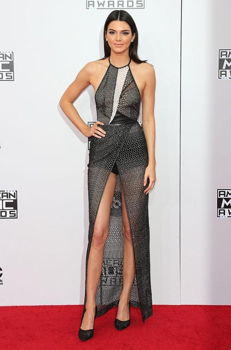 Kendall nuevamente marcó tendencia.