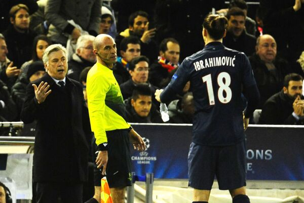 Carlo Ancelotti PSG