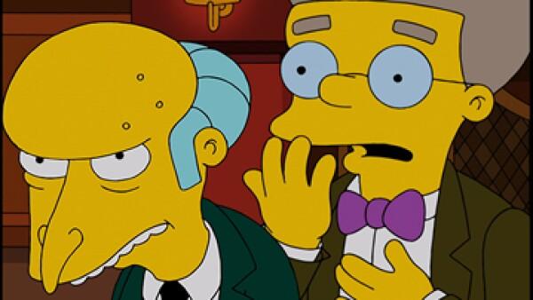 Los creadores de la serie habían dado pistas sobre la preferencia sexual de Smithers (Foto: Facebook/The Simpsons )