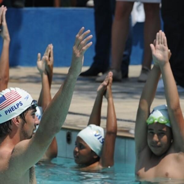 Michael Phelps - Río de Janeiro favela 3