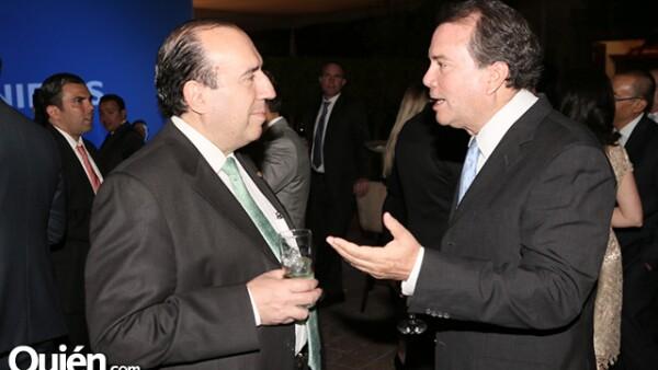 Tomás Barrientos y Enrique Ríos