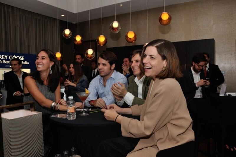 El domingo pasado varios amigos se reunieron el suite del hotel Live Aqua para ver la ceremonia más importante de la industria cinematográfica.