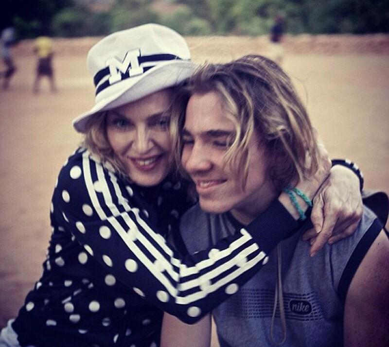 La cantante está feliz de que su hijo haya vuelto a vivir con ella en Nueva York.