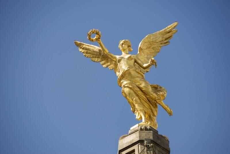 Libertad, ángel de la Independencia