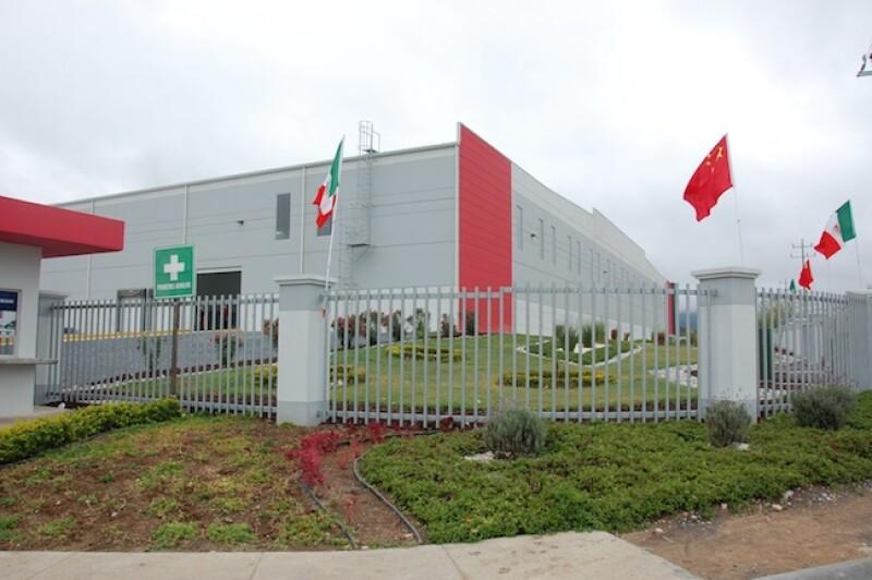 Planta de Hangzhou XZB Tech Co en Nuevo León