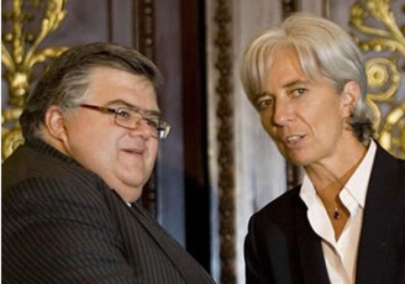 EU anunció que ambos son candidatos creíbles para dirigir el FMI.  (Foto: AP)