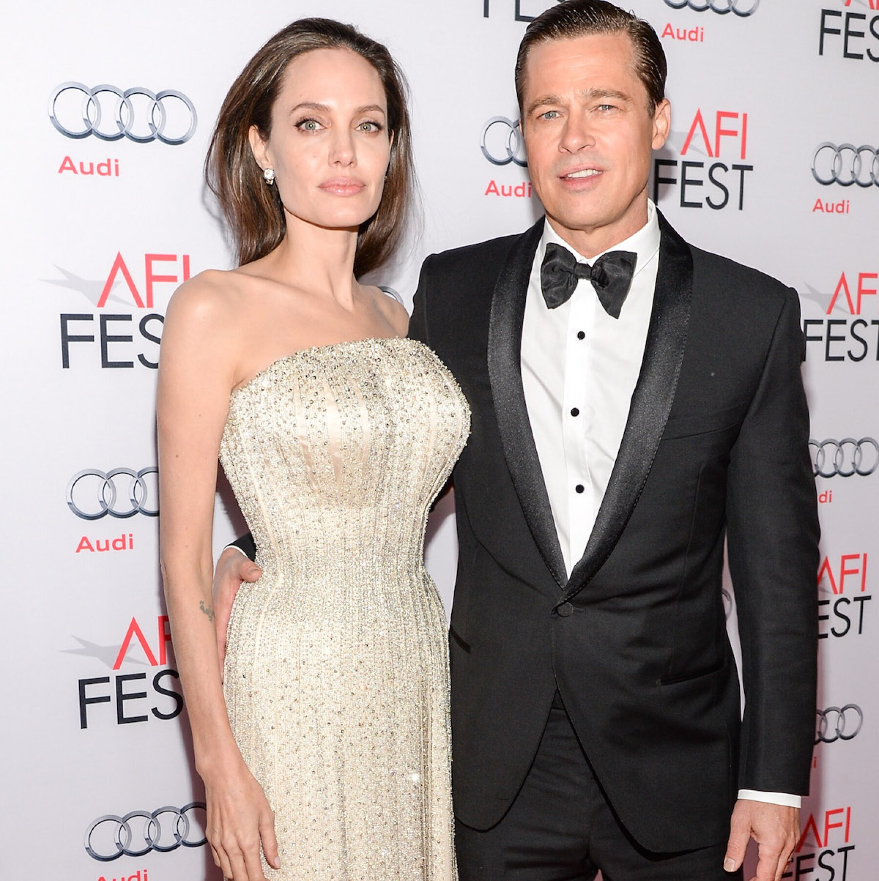 """AFI FEST 2015 - """"By The Sea"""" Red Carpet"""
