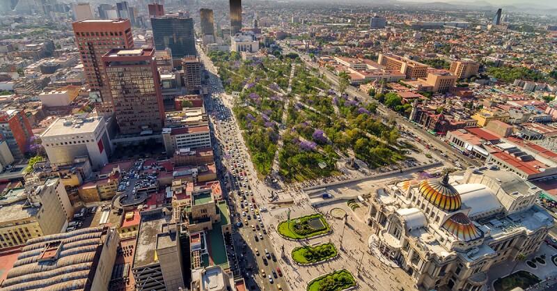 Domingo en la Ciudad de México